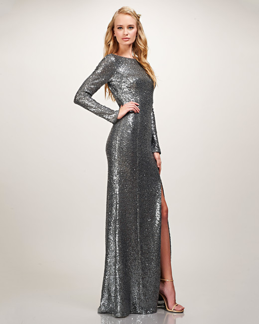 winter bridesmaid dress theia giselle sequin