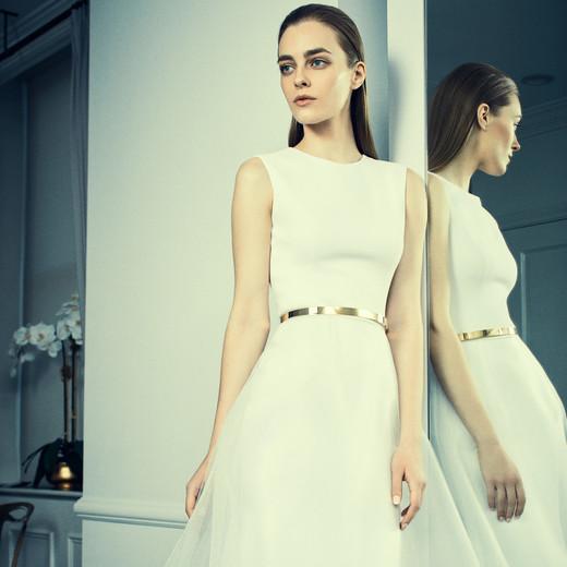 romona keveza collection wedding dress spring 2018 high boat neck