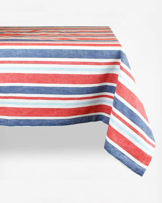 zola DII patriotic stripe table cloth