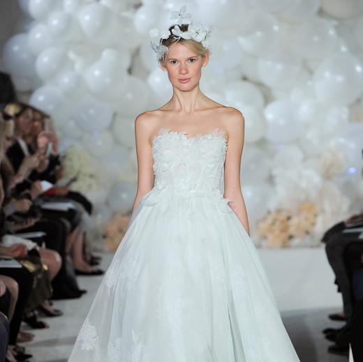 mira zwillinger wedding dress spring 2018 tulle a-line
