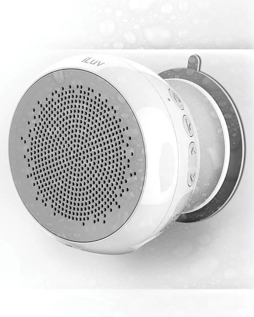 morning registry items iluv aud shower bluetooth speaker