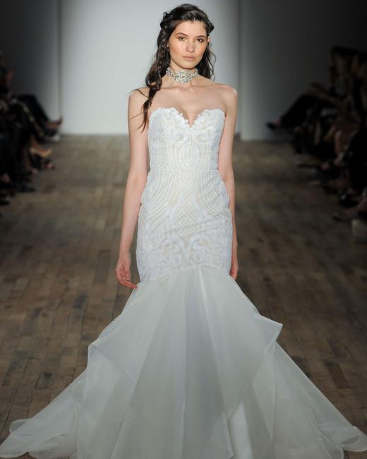 blush by hayley paige sweetheart mermaid wedding dress spring 2018