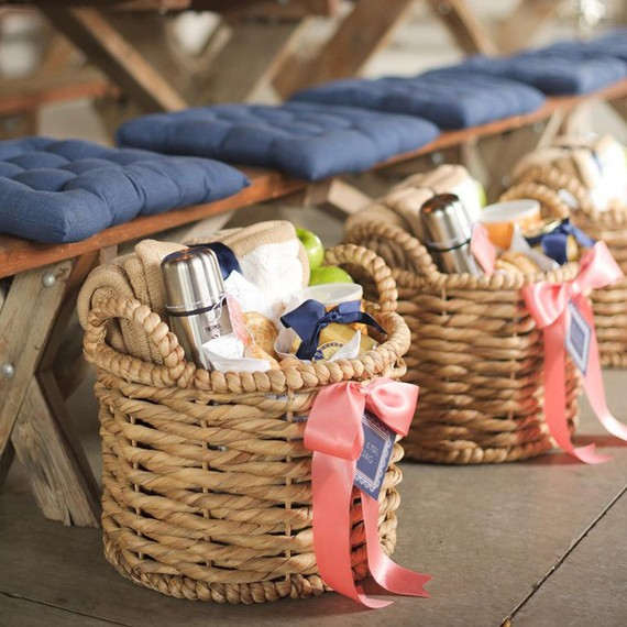 Baskets at Table