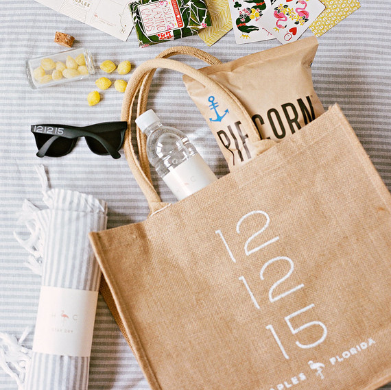 welcome bag items