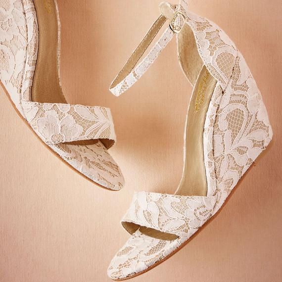 BHLDN wedge shoes