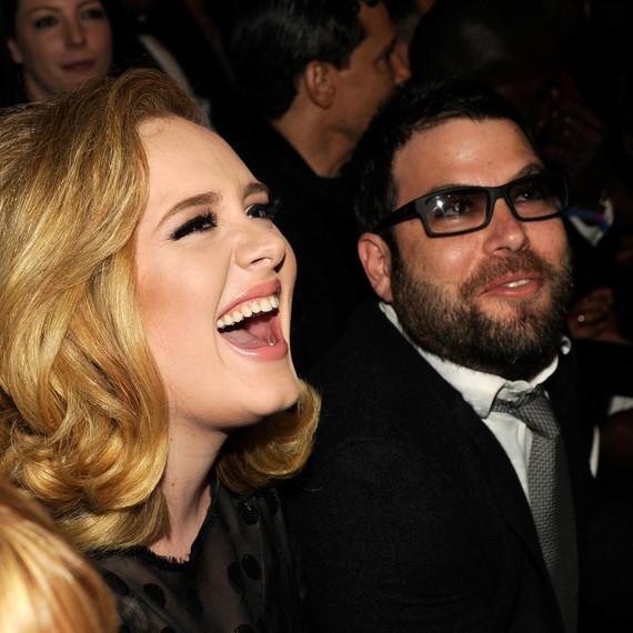 Adele and Simon Konecki