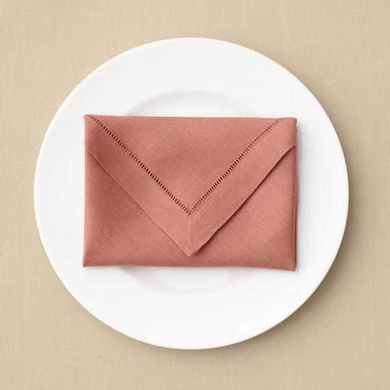 Envelope Napkin Fold via Martha Stewart