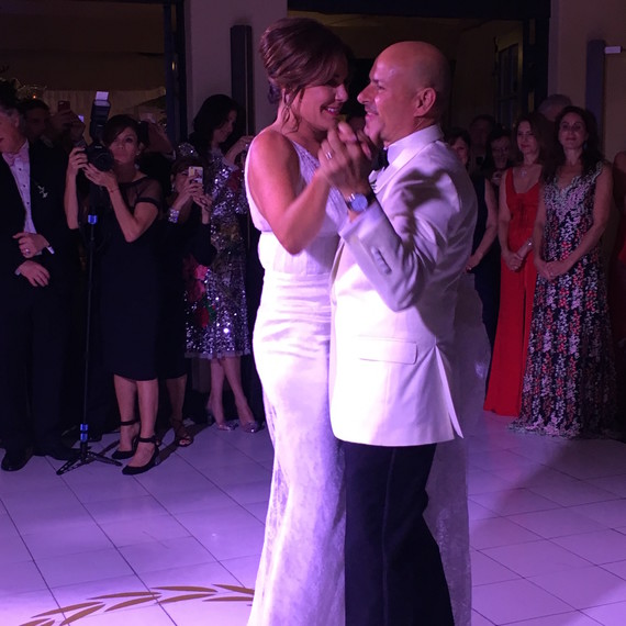 Luann de Lesseps and Tom D'Agostino Wedding