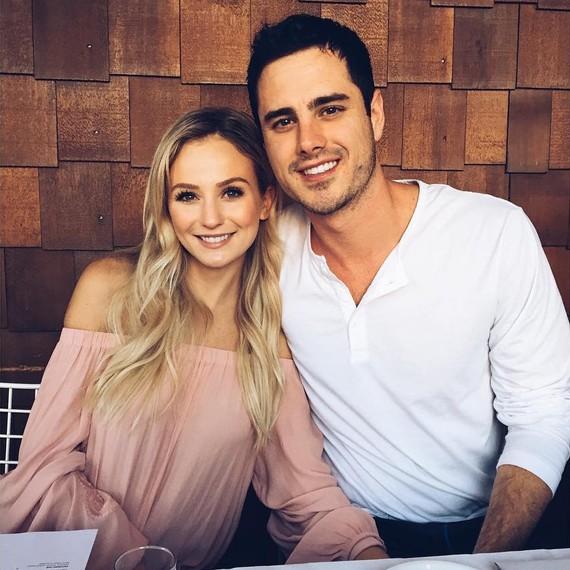 Lauren Bushnell and Ben Higgins