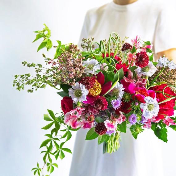 Bright Summer Wedding Bouquet