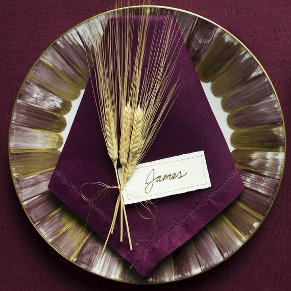 DIY Gold Leaf Place Card Step 4 vs2