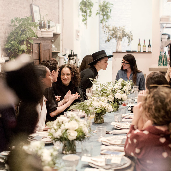 how to plan a bridal shower at a restaurant