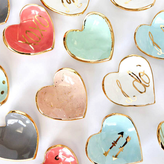 Susan Gordon Pottery ring dishes