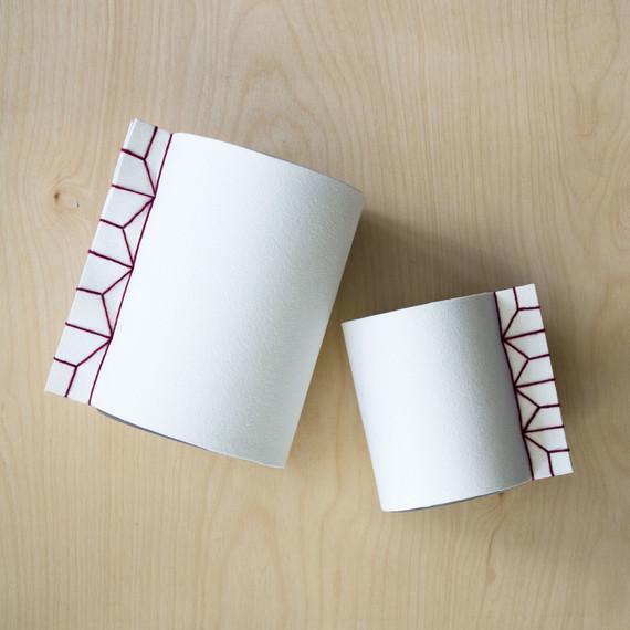david stark design bookbinding vase final