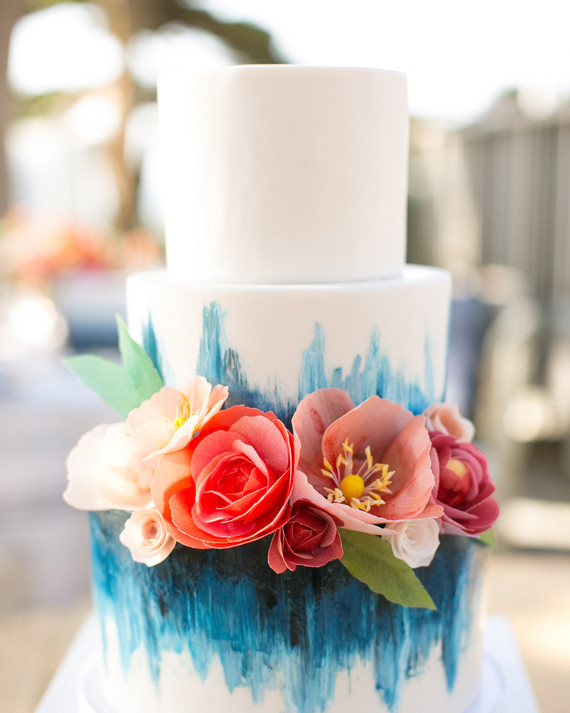 47 Colorful Wedding Cakes We Love