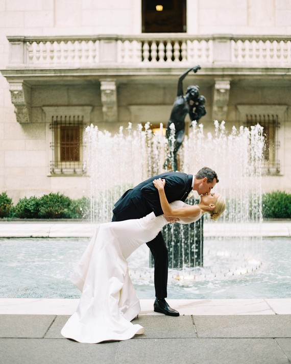 38 Utterly Romantic Wedding-Day Kisses