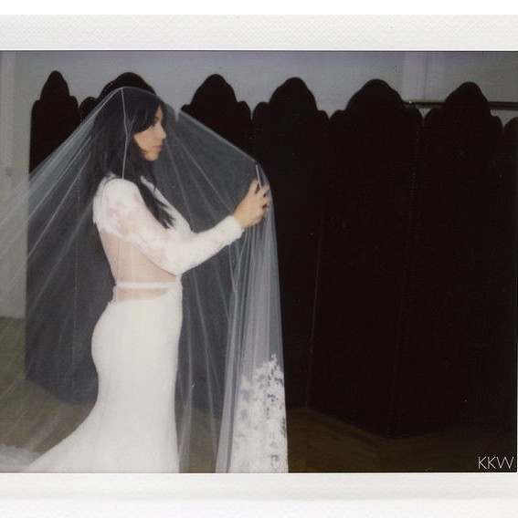 Kim K Wedding Gown: A Never-Before-Seen Photo Of Kim Kardashian's (Other