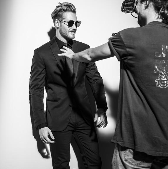 BLACK by Vera Wang Tuxedo Campaign