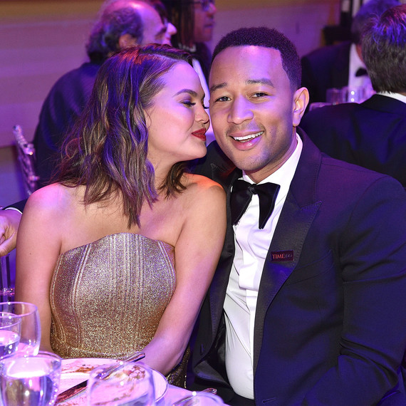 John Legend and Chrissy Teigen Time 100 Gala