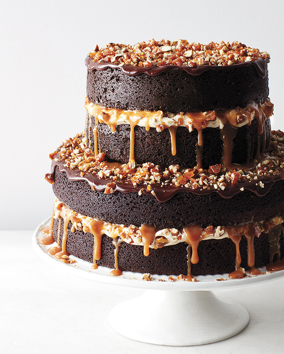 The Most Decadent Chocolate Wedding Cakes