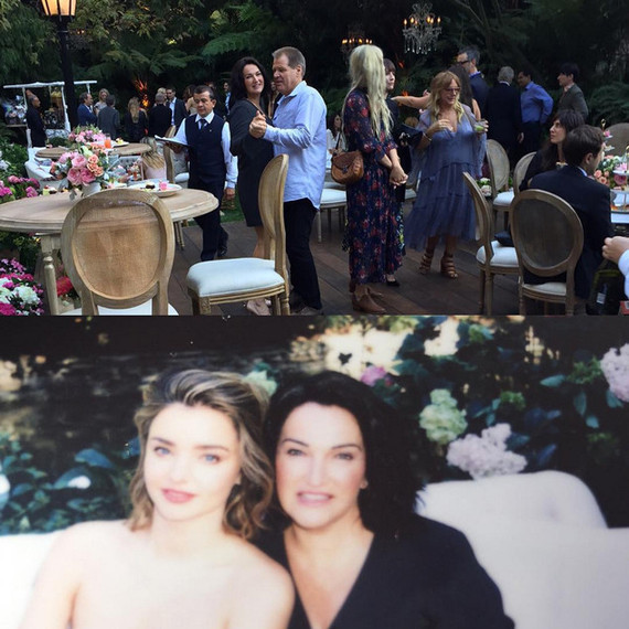 Miranda Kerr engagement party