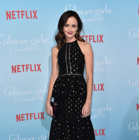 Alexis Bledel at the Gilmore Girls: A Year In the Life premiere red carpet