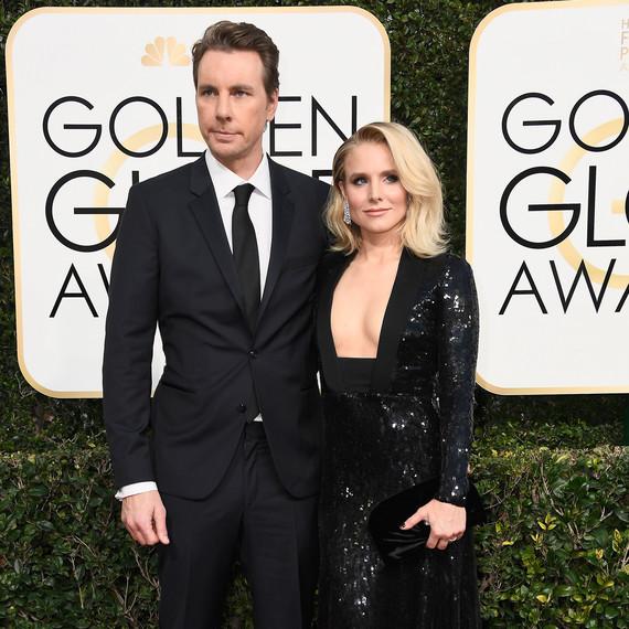 Kristen Bell and Dax Shepard Golden Globes 2017