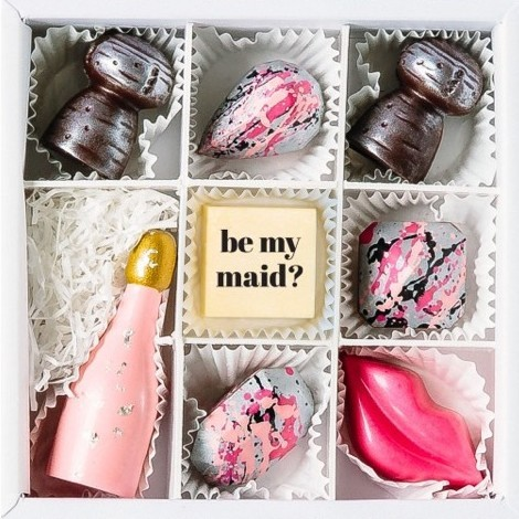 Maggie Louise Will You Be my Bridesmaid Chocolates