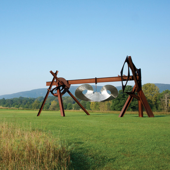 """Beethoven's Quartet"" by Mark di Suvero at Storm King Art Center"