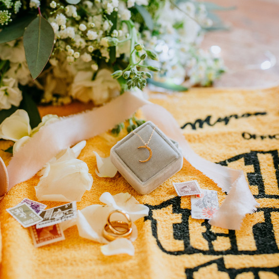 "Props from ""This Is Us"" Wedding Inspiration Shoot"