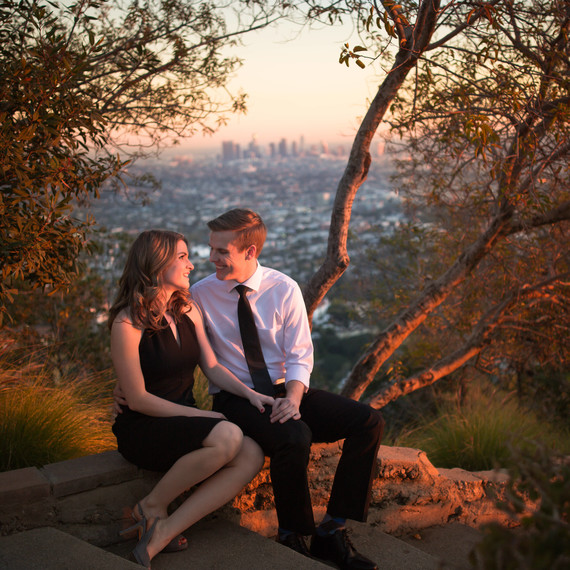 La La Land Engagement Photoshoot
