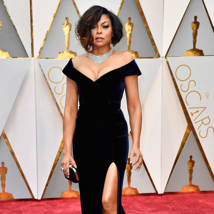 Taraji P. Henson 2017 Oscars Red Carpet
