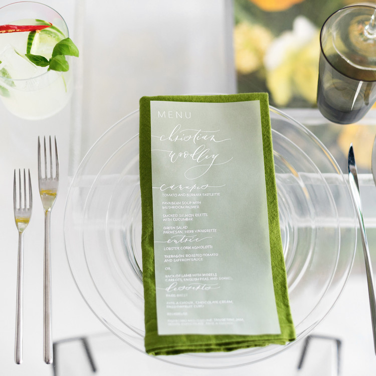 Chris Hessney Spring Shoot Place Setting