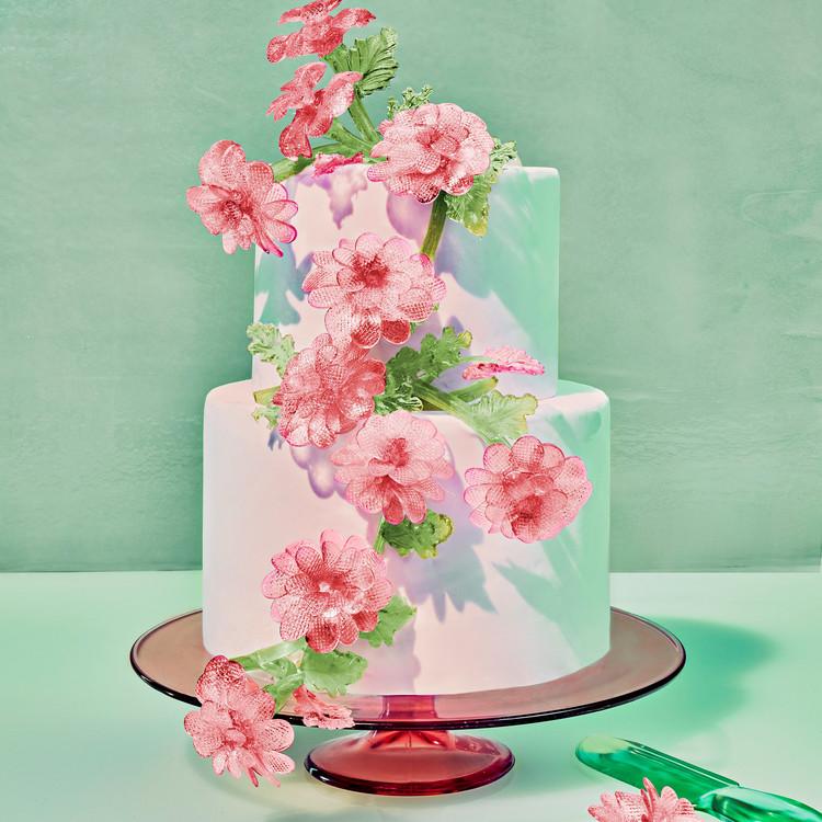 glass cake venetian murano glass