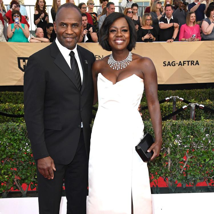 Viola Davis and Julius Tennon Sag Awards 2017