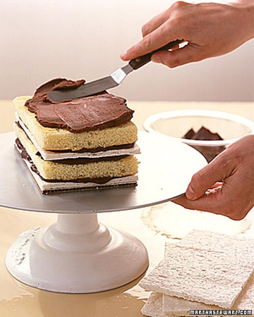 Genoise for Almond Dacquoise Cake