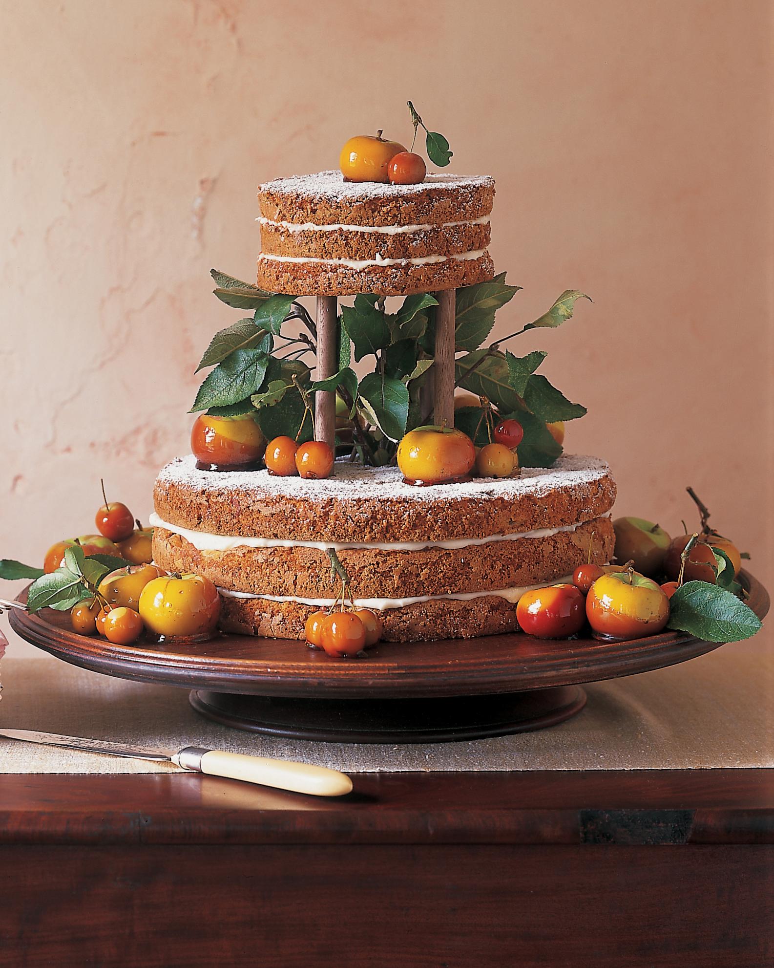 Applesauce Wedding Cake