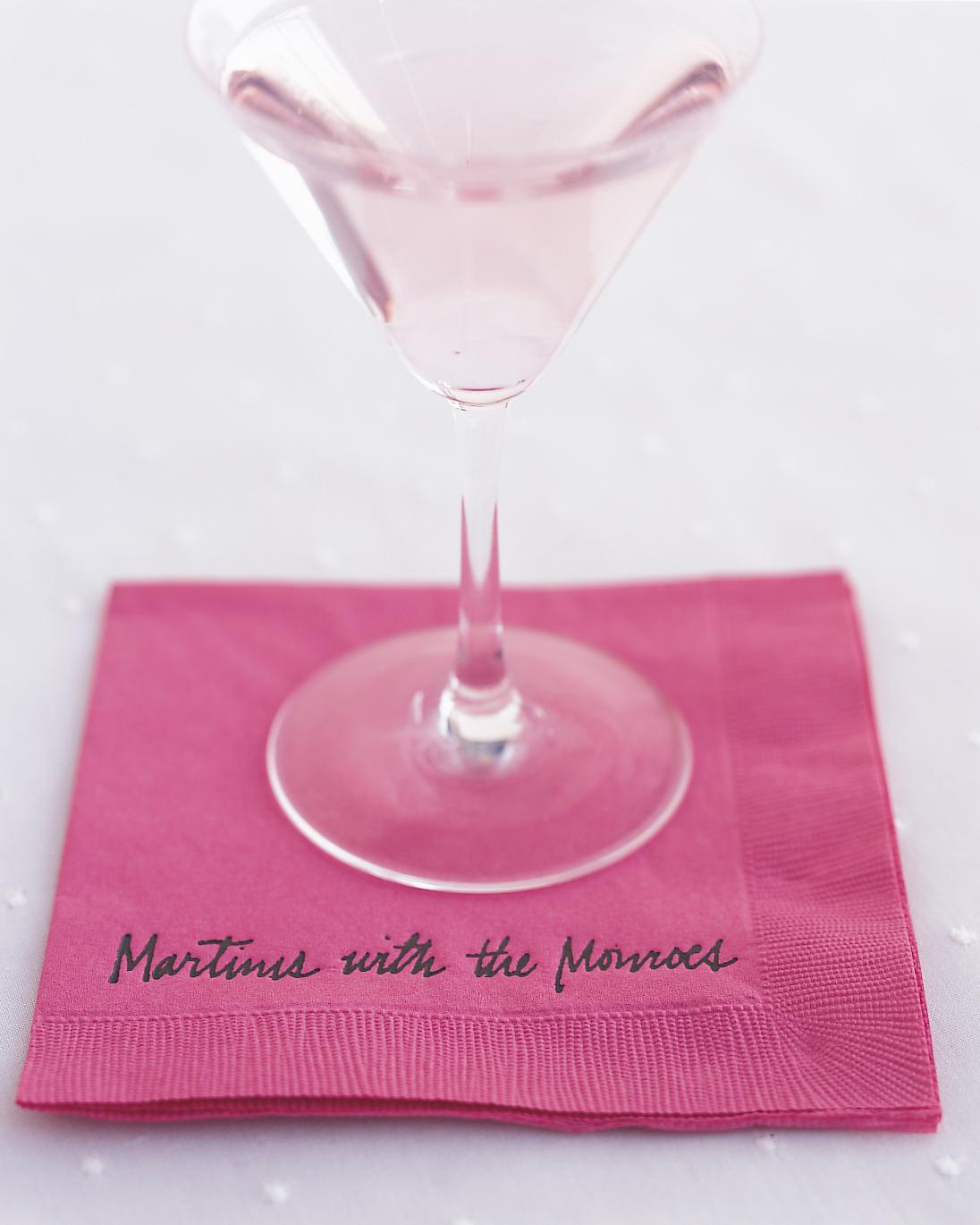 Pink Raspberry Martinis