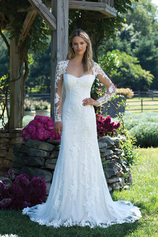 sincerity long-sleeve lace