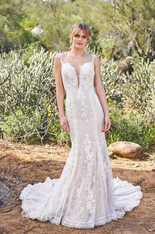 lilian west lace gown