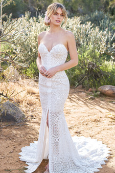 lillian west sweetheart gown