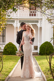 martina liana Full Length fit and flair lace