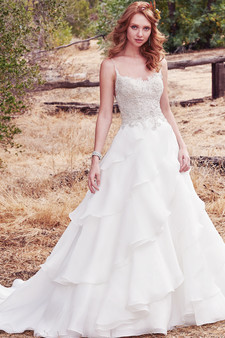 maggie sottero fall 2017 beaded bodice gown