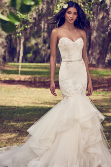 maggie sottero sweetheart strapless
