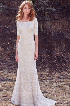 maggie sottero fall 2017 sheath gown