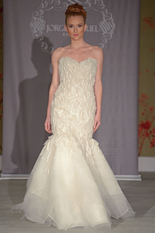 Jorge Manuel Wedding Dresses Martha Stewart Weddings