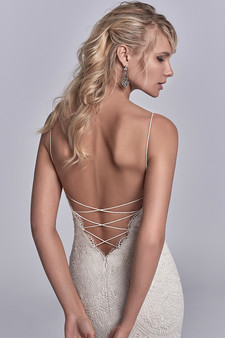 sottero and midgley maxwell rose strappy back gown