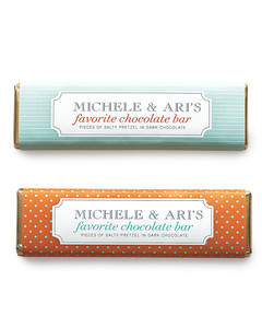 Personalized Chocolate Bar Favor Label Template