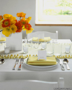 Beau Ruffly Crepe Paper Table Runner