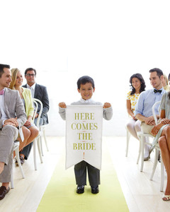Here Comes The Bride Banner How To